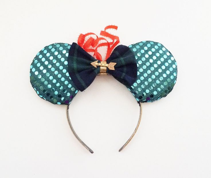 A personal favorite from my Etsy shop https://www.etsy.com/listing/271411957/merida-disney-ears-brave-disney-ears