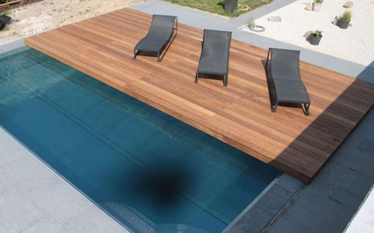 M s de 25 ideas incre bles sobre cubiertas para piscinas for Cubierta piscina transitable