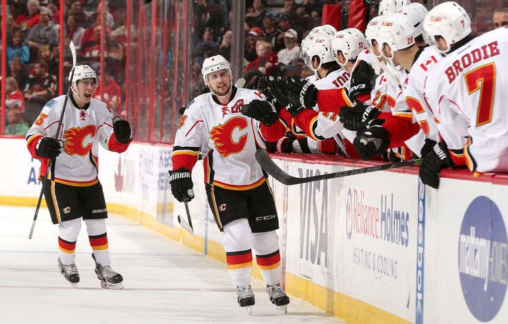 Senators vs. Flames - 08/03/2015 - Calgary Flames - Photos