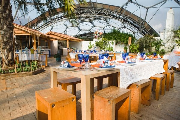 1 - A Spanish Themed Wedding Shoot at the Eden Project