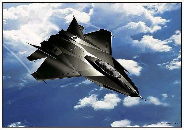 future fighter jets | China – Shenyang J-XX Stealth Fighter / Flight Concept