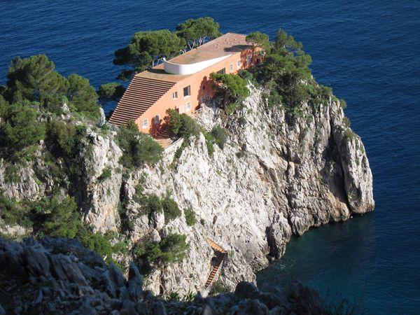 Villas of Italy - Capri - Villa Malaparte - project A. Libera