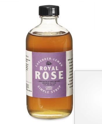 Flavored simple syrups make for great DIY sodas | Royal Rose syrup at Williams Sonoma: Lemon Syrup, Royals, Lady Drinks, Roses, Cardamom Syrup, Healthy Drinks, Simple Syrup