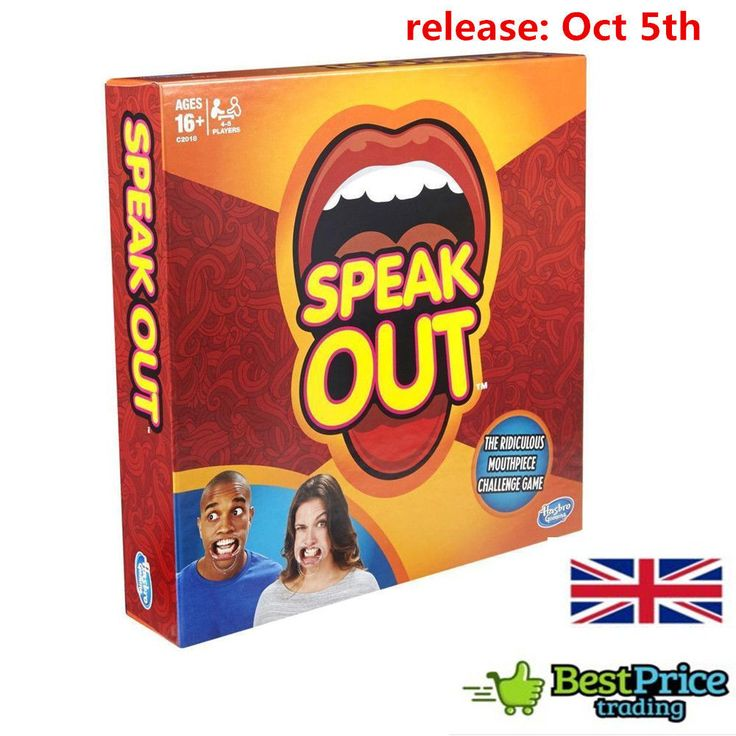 Speak out game for Halloween.Hot sale!