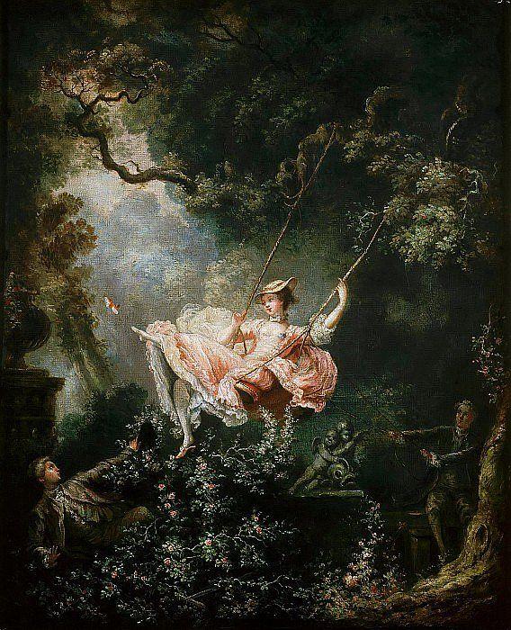 Качели Жан Оноре Фрагонар (1732–1806) Счастливые возможности качелей