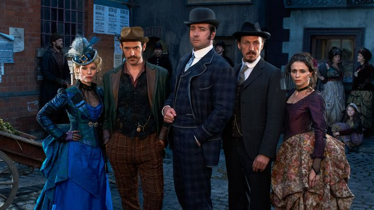 The brilliant cast of Ripper Street