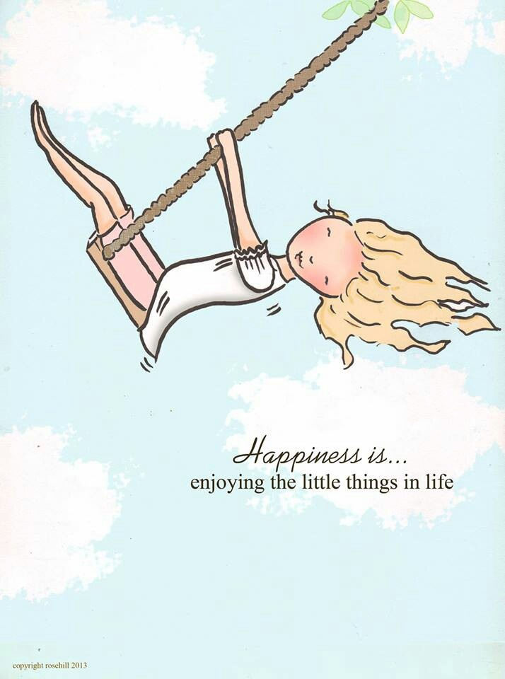 Happiness is °°° Enjoying the little things In life ° Rose Hill Designs by Heather Stillufsen                                                                                                                                                                                 More