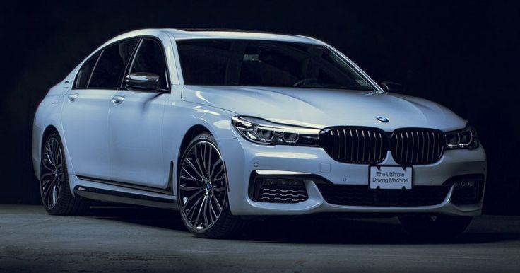 BMW Slaps M Performance Parts On 740e Plug-In Hybrid For SEMA #BMW #BMW_7_Series