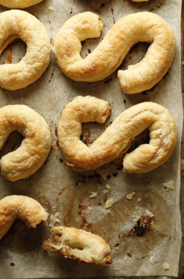The recipe for these flaky, almond-filled pastries is based on one from Jaarsma's Bakery in Pella, Iowa. See the recipe »