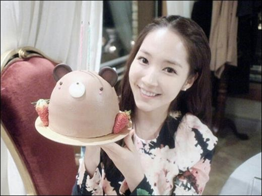 Actress Park Min Young thanks fans for their birthday wishes