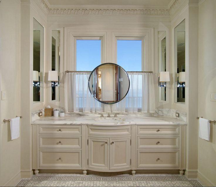 Bathroom Vanity In Front Of Window 11 best mirrors in front of windows images on pinterest | mirrors
