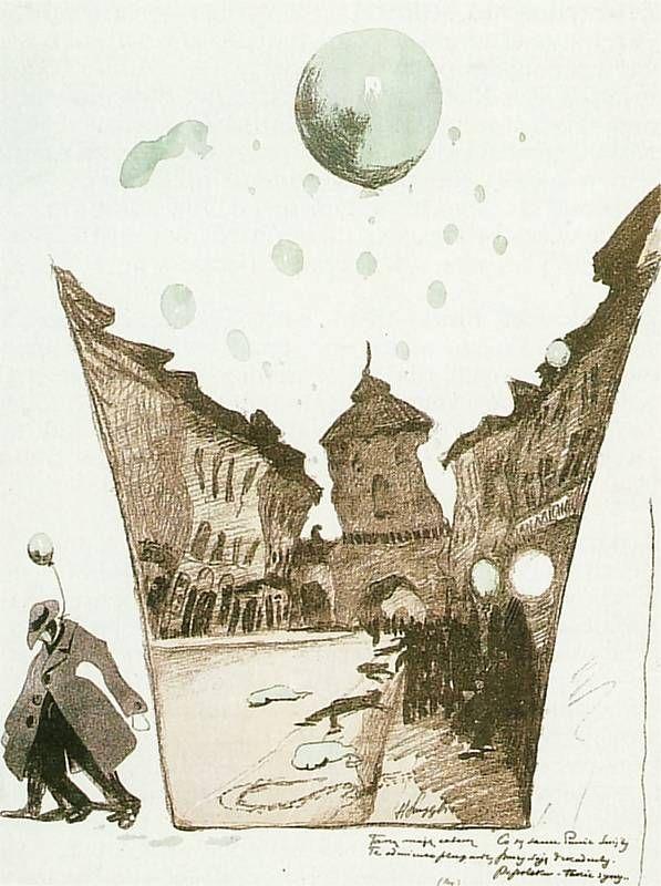 Zielony Balonik | Henryk Szczygliński