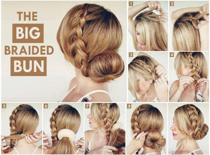 The braided Bun Look