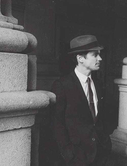 Neal Caffrey stole my art....heart. <3