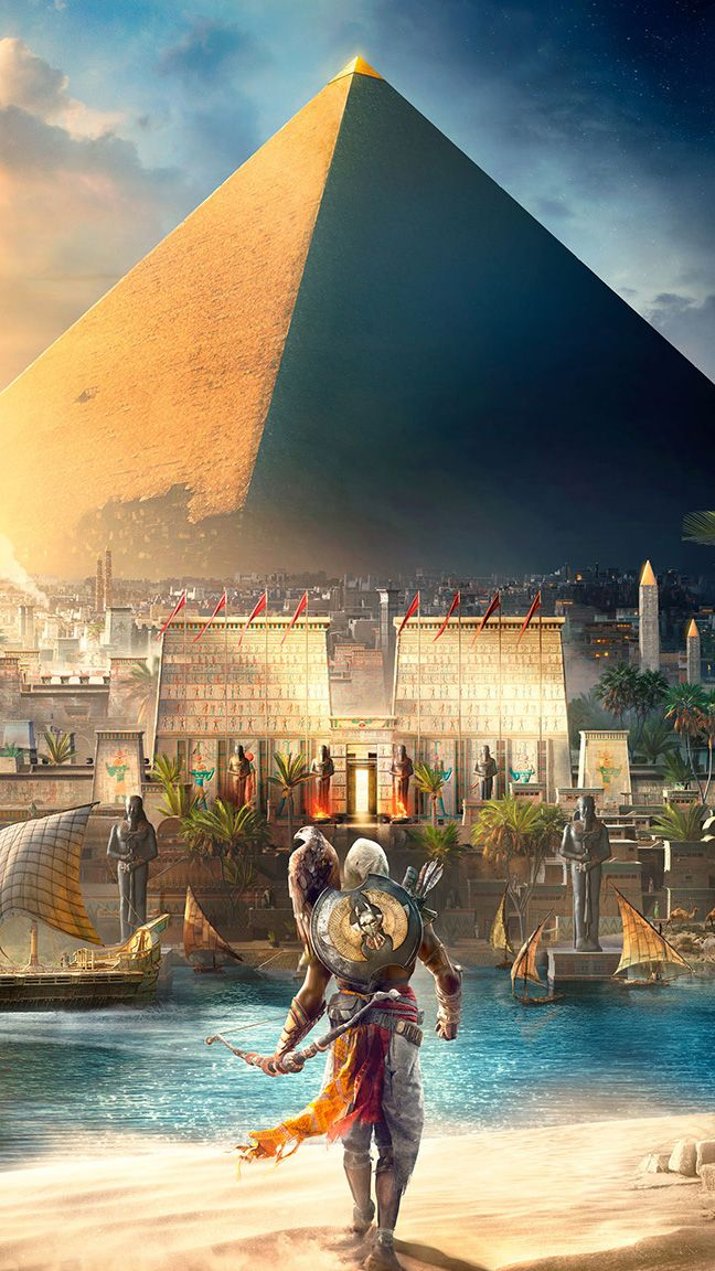 Assassins creed origins is going to be so freaking amazing!!!