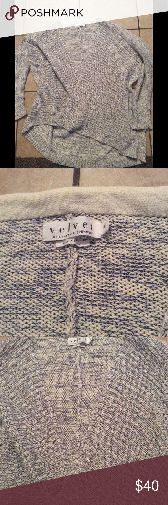 Velvet by Graham and spencer sweater Velvet by graham and spencer cardigan sweater small excellent condition stock pic for fit Velvet by Graham & Spencer Sweaters Cardigans