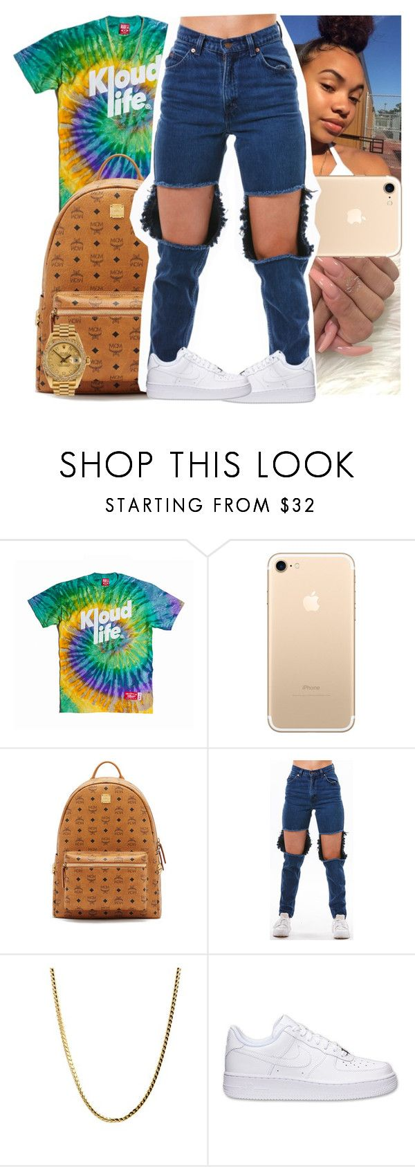 """""""Untitled #1442"""" by msixo ❤ liked on Polyvore featuring MCM, Rolex and NIKE"""