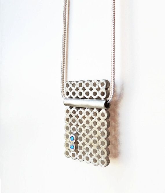 Get a Round Sterling Silver Pendant by AnaBragancaJewellery