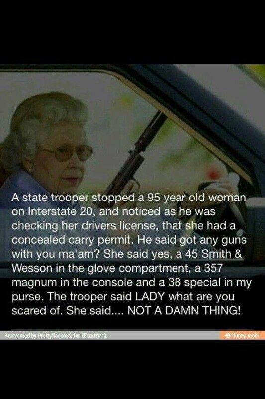 Way to go Granny!