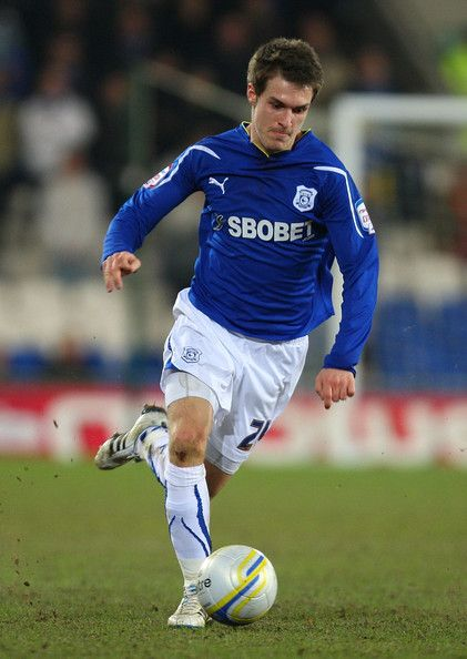 Aaron Ramsey for Cardiff City.