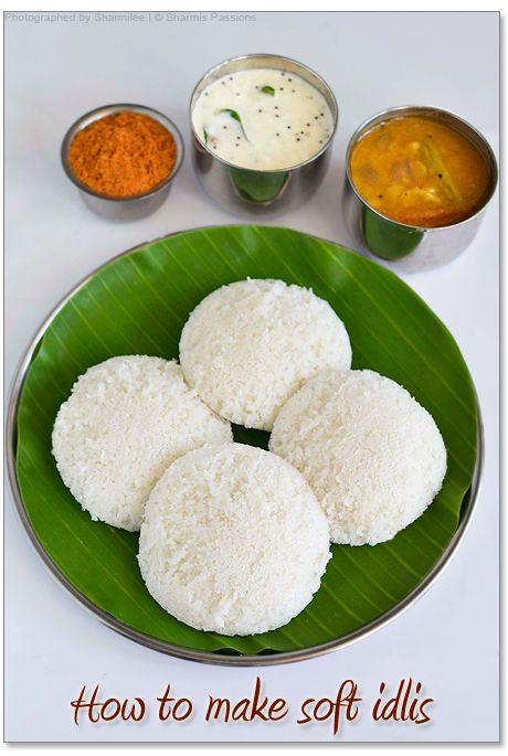 How to make soft idlis (Homemade Idli Dosa Batter) - Gluten Free, Vegan