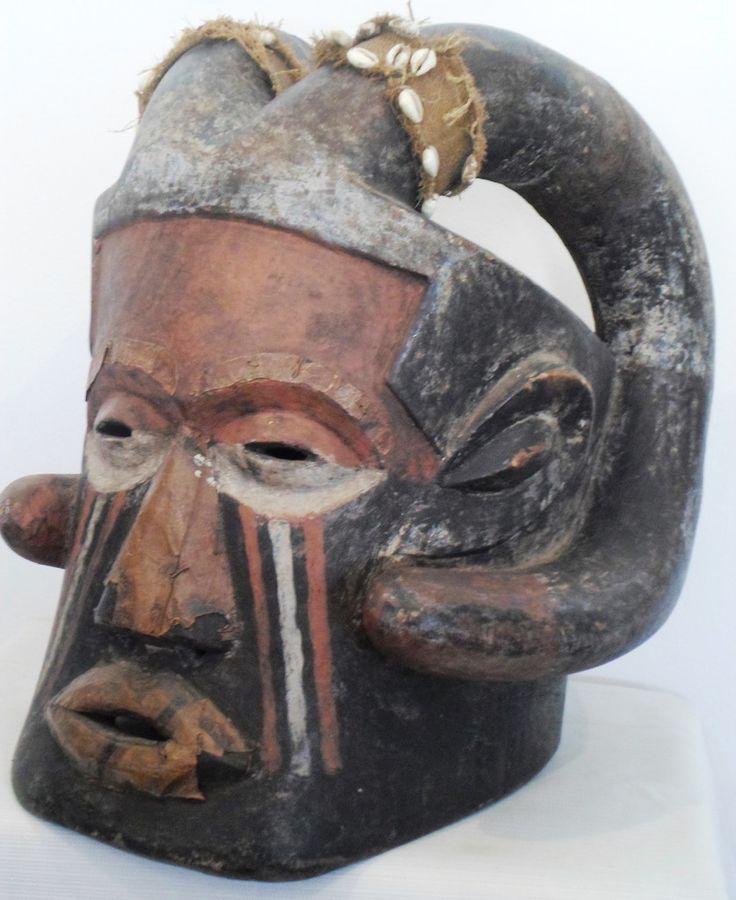 SOLD SOLD Kuba Helmet Tribal Mask*