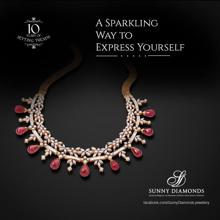 A sparkling way to express yourself.