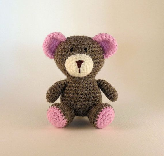 Hey, I found this really awesome Etsy listing at https://www.etsy.com/listing/246129413/crochet-amigurumi-bear-teddy-bear-pink
