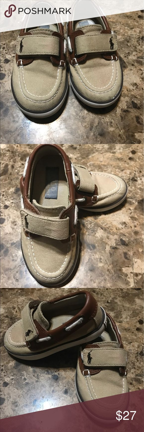 Toddler polo shoes Used good condition size 7 toddler Shoes Sneakers