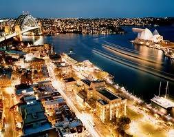 View from Four Seasons Sydney Australia