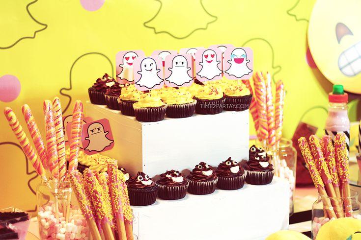 Snapchat Inspired Birthday Party