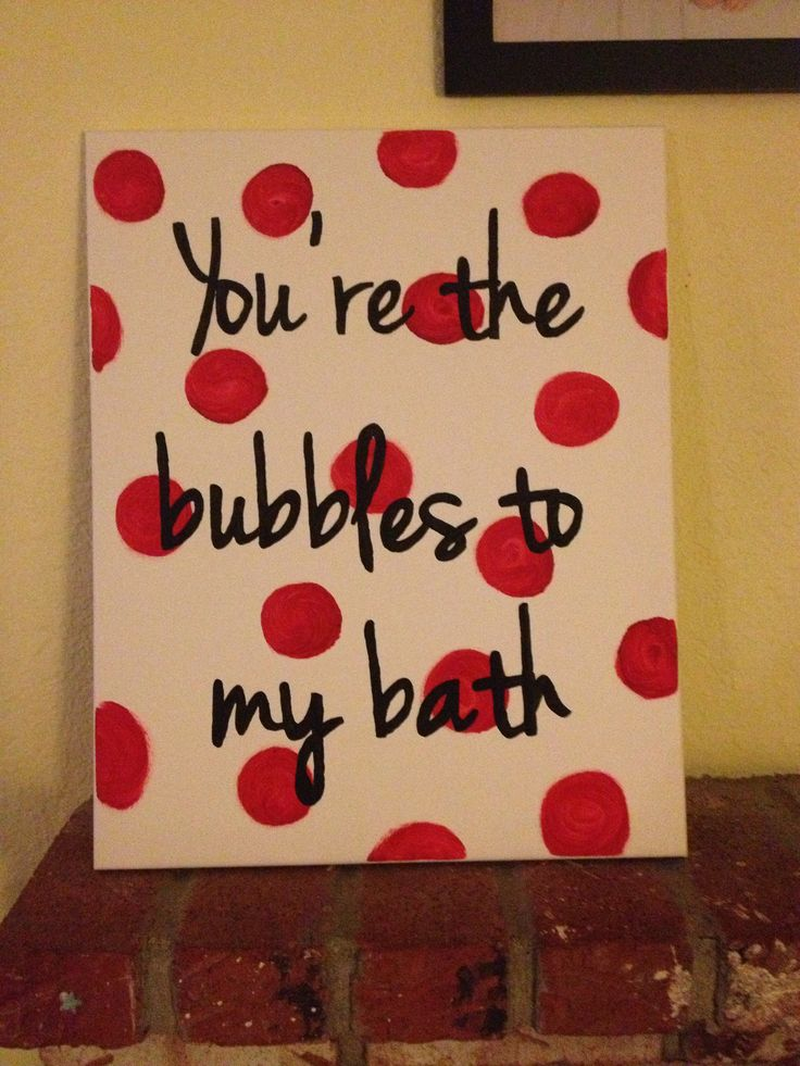 For my girls' bathroom. Made it to match their colors (red, white, black).