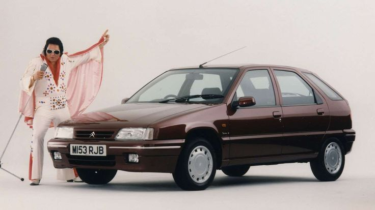 Of course, Elvis wouldn't put his name to just any old car. This is a Citroen ZX Memphis special edi... - Citroen