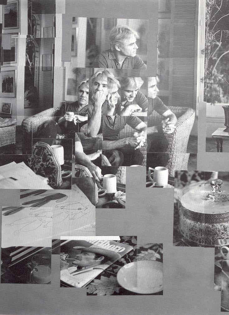 David Hockney:  Isherwood, 1983
