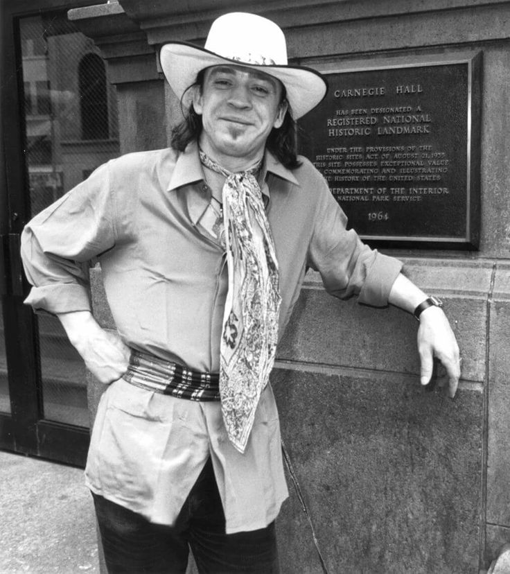 Stevie Ray Vaughn--a Dallas (Oak Cliff) native.