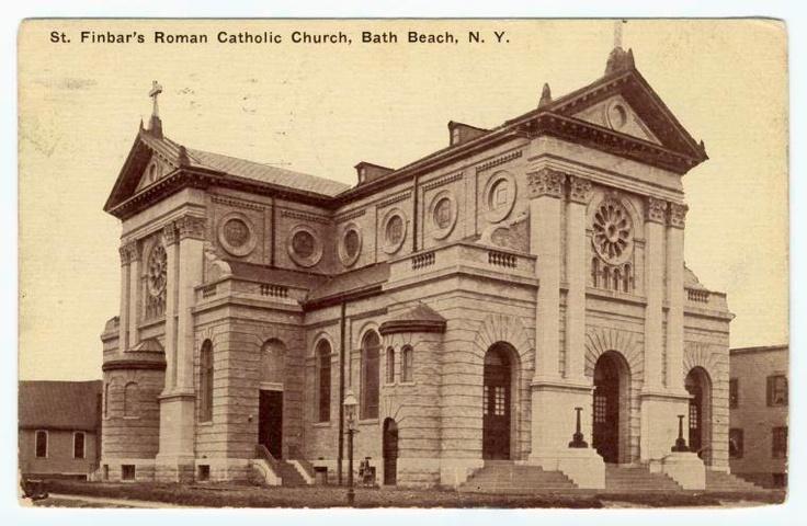 St. Finbars church - Bath Beach.... My old parish