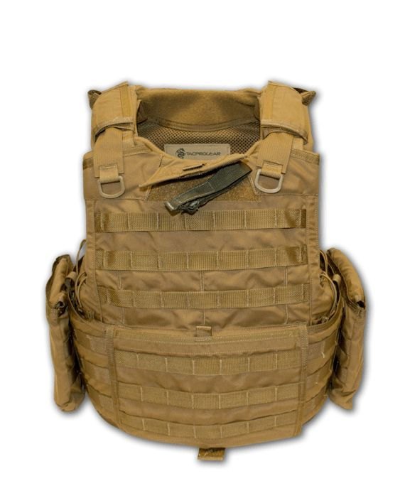 The RBAV is a SPEAR/BALCS cut tactical vest protecting the upper torso from multiple ballistic threats (depending on ballistic inserts utilized) designed with the high-speed special operator in mind. The RBAV system consists of one base vest assembly made up of an outer shell base vest carrier with an optional ballistic insert set and one set of interchangeable left and right cummerbunds, one pair of removable side plate pockets,internal elastic belly-band, pair of removable shoulder pads…