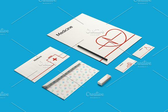 Medicine Elements by barsrsind on @creativemarket