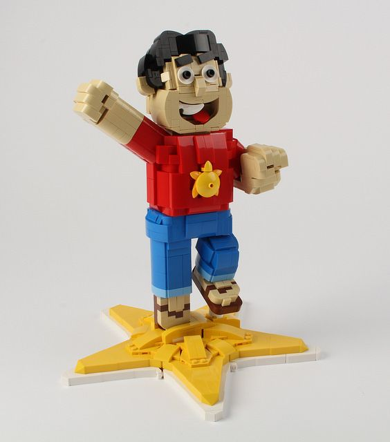 Steven Universe in brick form is a gem of a LEGO creation http://www.brothers-brick.com/2016/01/15/steven-universe-in-brick-form-is-a-gem-of-a-lego-creation2/