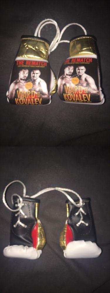 Boxing 1227: 2017 Andre Ward Vs. Sergey Kovalev 2 Ii Mini Boxing Gloves Mandalay Bay Casino -> BUY IT NOW ONLY: $60 on eBay!