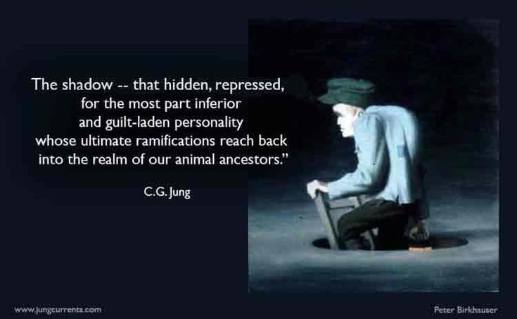Jung defines his concept of the shadow