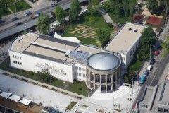 Il centro culturale MOM oggi, dopo la ristrutturazione