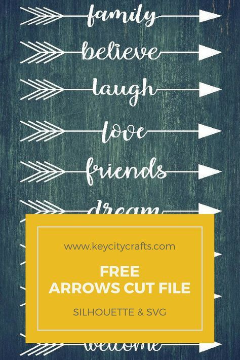 Free Arrows Cut FIle
