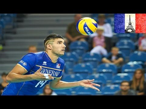 The best volleyball players in the world: Nicolas Le Goff - YouTube