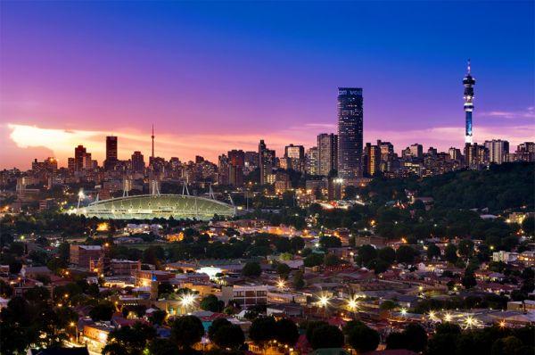 Johannesburg Skyline via