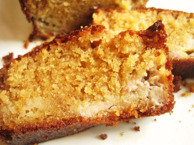 Cake à la banane, au miel et cannelle