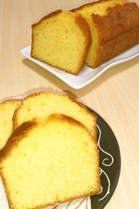 簡単しっとりパウンドケーキ