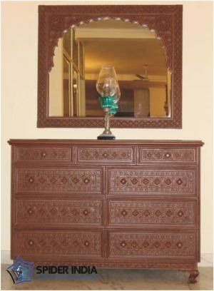 Teak Wood carved Cabinet in Mumbai-2