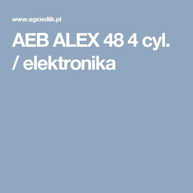 AEB ALEX 48 4 cyl. / elektronika
