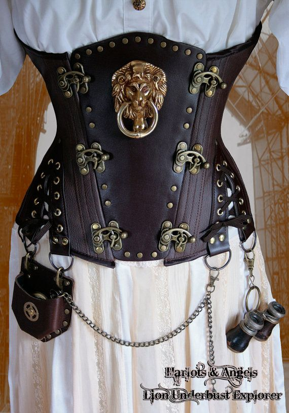 Steampunk Sewing Patterns- Underbust Corset Sewing Pattern. Instant download.